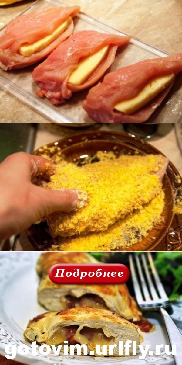 Куриная грудка с сыром. Так быстро и так вкусно!