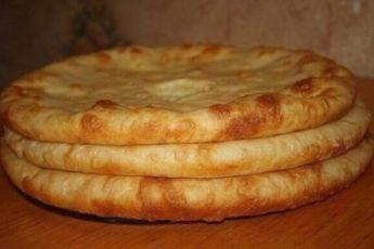 Осетинские пироги с мясом, с картошкой и сулугуни