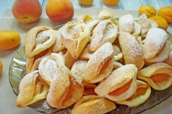 Печенье с абрикосом Поцелуйчики